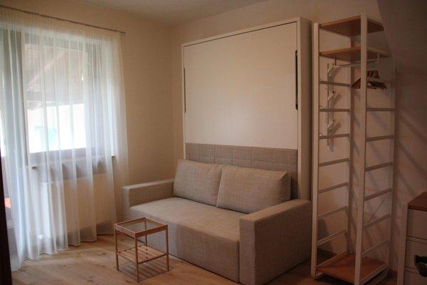 La zona giorno Garni + Appartamenti Färbe
