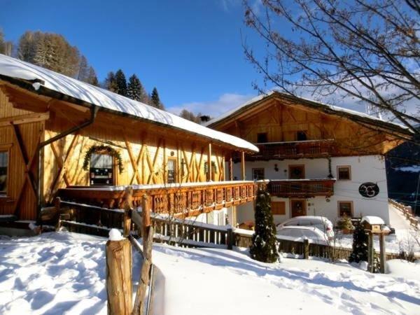 Foto invernale di presentazione Appartamenti Virtus e Otium - Maso Felderer
