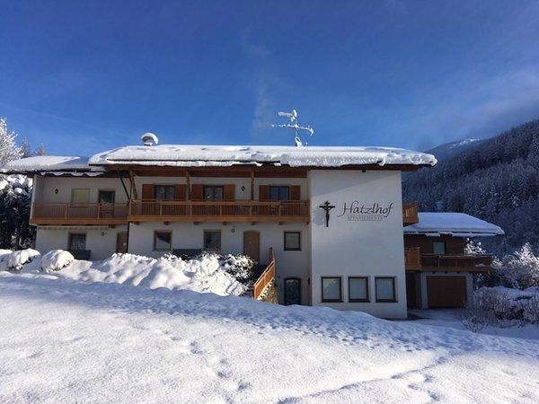 Foto invernale di presentazione Hatzlhof - Appartamenti 3 soli