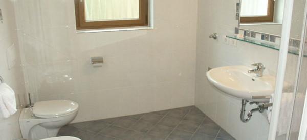 Foto del bagno Appartamenti Hatzlhof