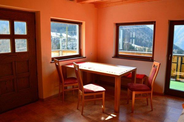 La zona giorno Martlerhof - Appartamenti in agriturismo 2 fiori