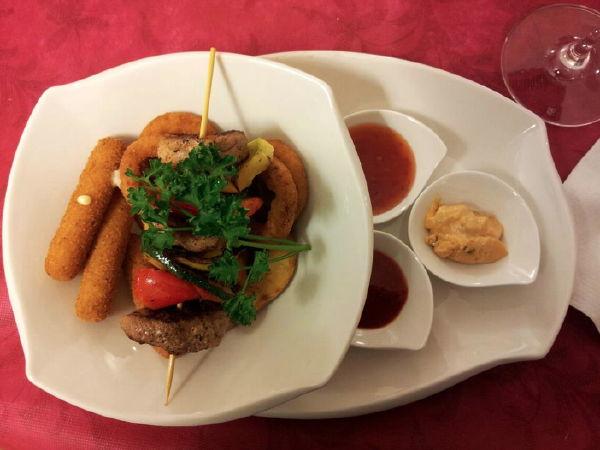The restaurant Fleres – Colle Isarco / Pflersch – Gossensass Argentum