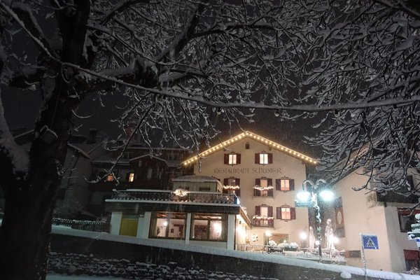 Foto invernale di presentazione Hotel Schuster