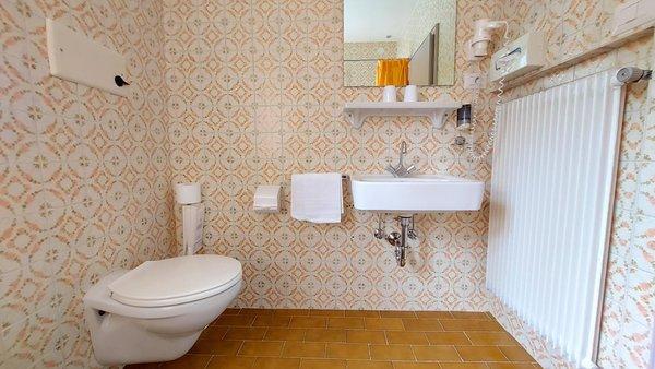 Foto del bagno Hotel Schuster