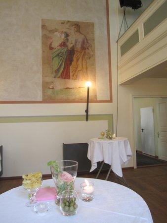 The restaurant Colle Isarco / Gossensass Apartments Zum Theater