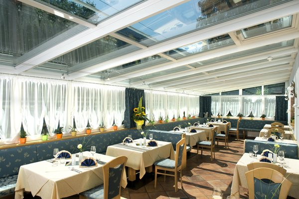 The restaurant Racines / Ratschings Bergblick