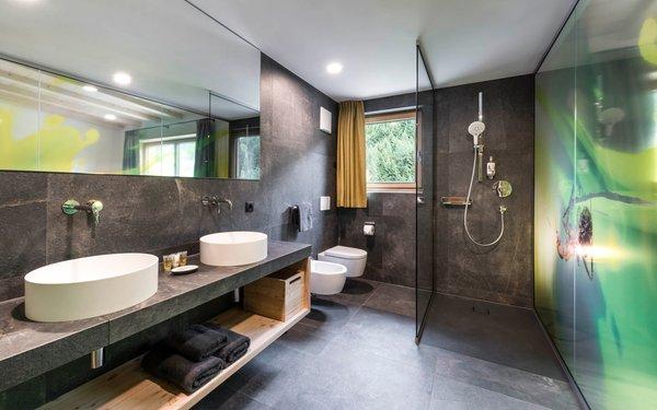 Photo of the bathroom Wanderhotel Jaufentalerhof