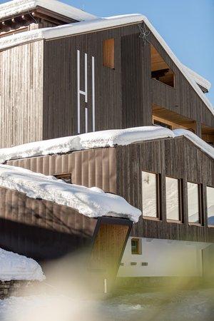 Photo exteriors in winter Wanderhotel Jaufentalerhof
