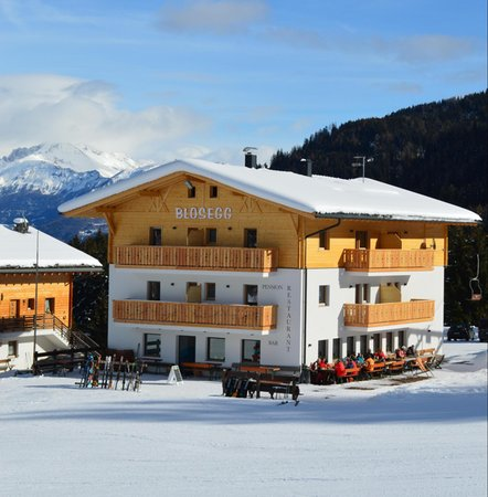 Foto Außenansicht im Winter Blosegg
