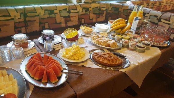 Das Frühstück Gasthof Blosegg