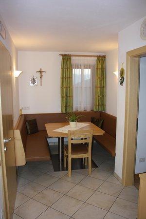 Der Wohnraum Ferienwohnungen Haus Parigger