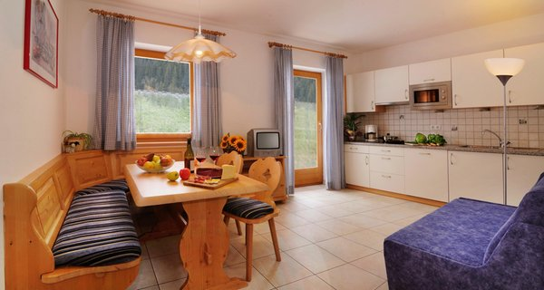 Foto della cucina Fassnauerhof