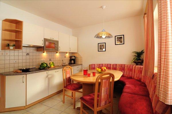 La zona giorno Fassnauerhof - Appartamenti in agriturismo 3 fiori