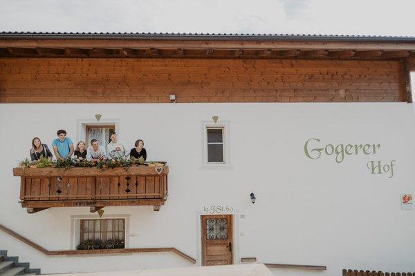 Foto Außenansicht Ferienwohnungen auf dem Bauernhof Gogerer