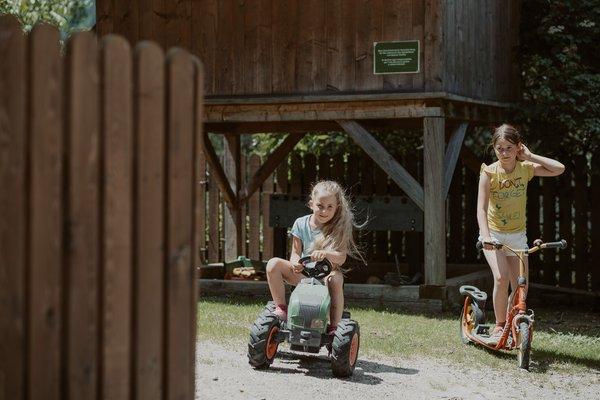 Foto vom Garten Jaufental