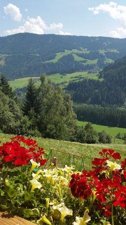 Foto vom Balkon Ferienwohnung auf dem Bauernhof Lexhof