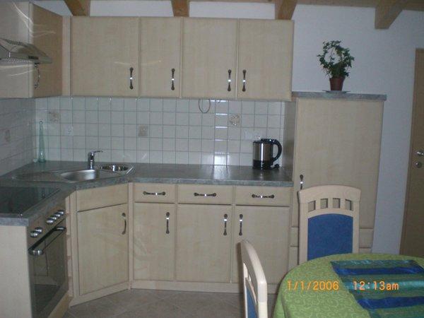 Foto der Küche Ferienwohnung auf dem Bauernhof Lexhof