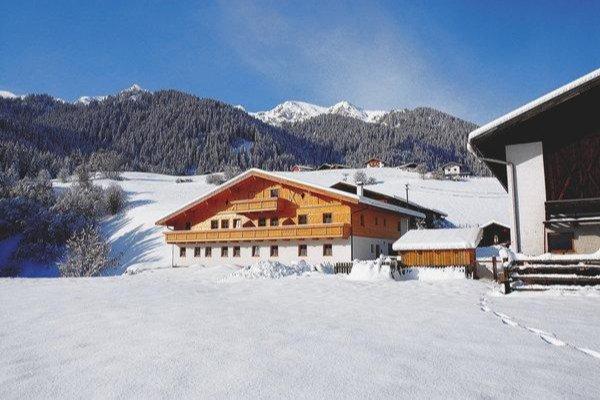 Winter Präsentationsbild Ferienwohnungen auf dem Bauernhof Thalhof