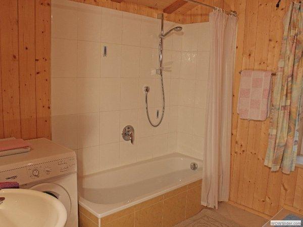 Foto del bagno Appartamenti in agriturismo Blösn - Häuslerhof