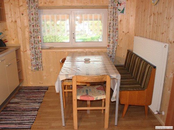 La zona giorno Appartamenti in agriturismo Blösn - Häuslerhof