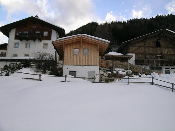 Foto invernale di presentazione Appartamenti in agriturismo Blösn - Häuslerhof