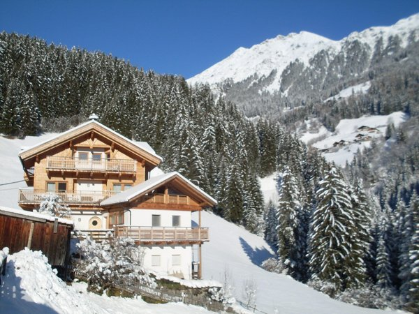 Winter Präsentationsbild Ferienwohnungen auf dem Bauernhof Obergruberhof