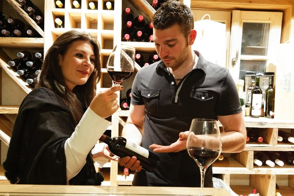 La cantina dei vini Rio di Pusteria Leitner