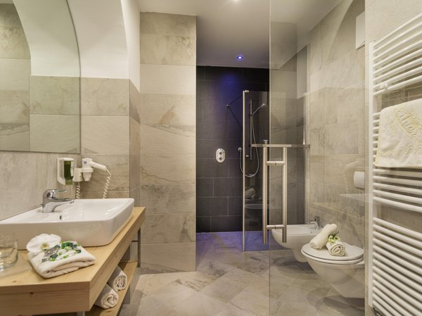 Foto del bagno Hotel Leitner
