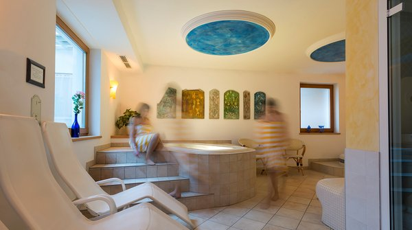 Photo of the wellness area Hotel Alpenfrieden
