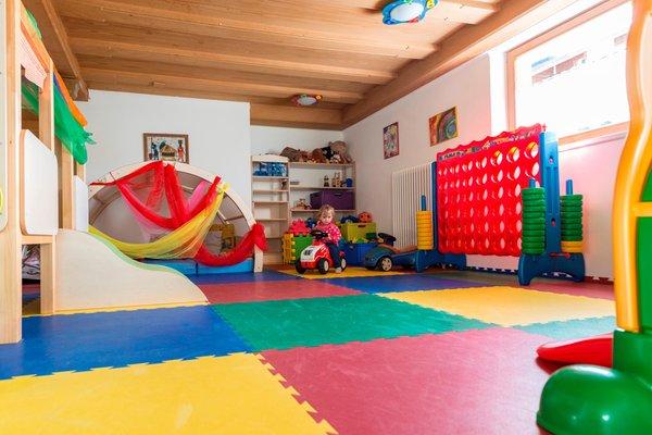 La sala giochi Hotel Alpenfrieden
