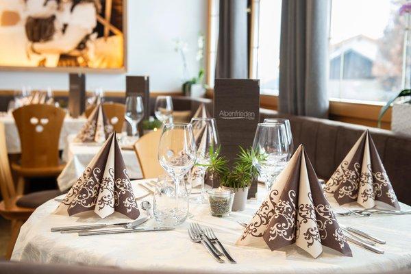 The restaurant Maranza / Meransen (Gitschberg Jochtal) Alpenfrieden