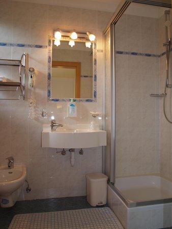 Foto del bagno Aparthotel Gurnatsch