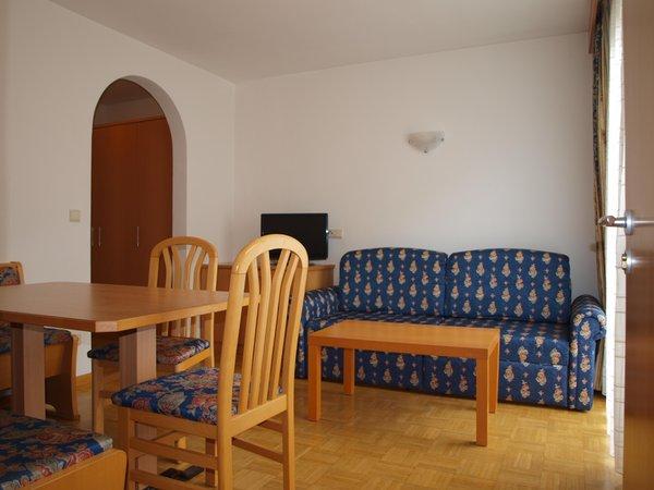 The living area Hotel + Residence Gurnatsch