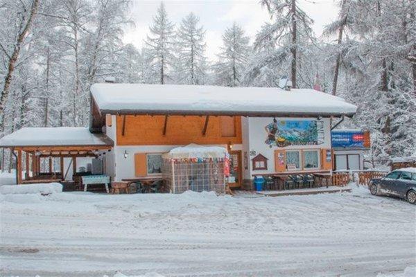 Foto invernale di presentazione Pizzeria Pineta