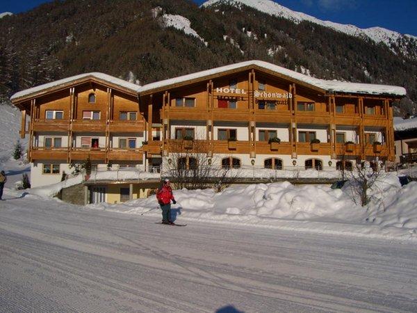 Foto invernale di presentazione Hotel Schönwald