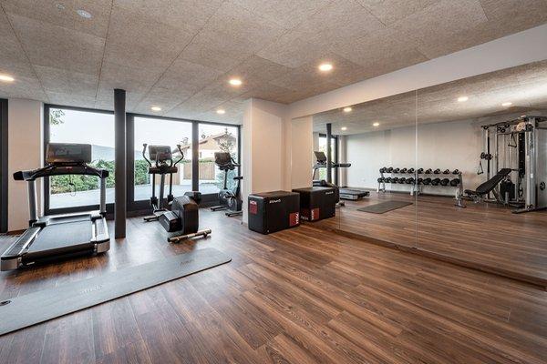 Foto della zona fitness Hotel Edelweiss