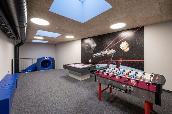 La sala giochi Hotel Edelweiss