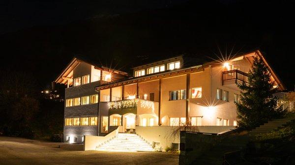 Photo exteriors in winter Hotel Appartement Haus Gitschberg