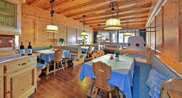 The restaurant Maranza / Meransen (Gitschberg Jochtal) Hofer