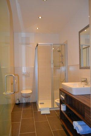 Foto del bagno Camere in agriturismo Häuslerhof