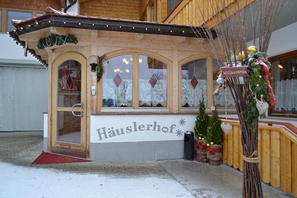 Foto esterno in inverno Häuslerhof
