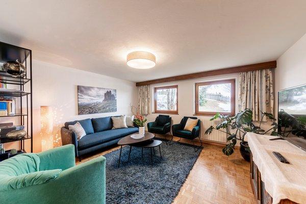 La zona giorno Residence Waldelerhof