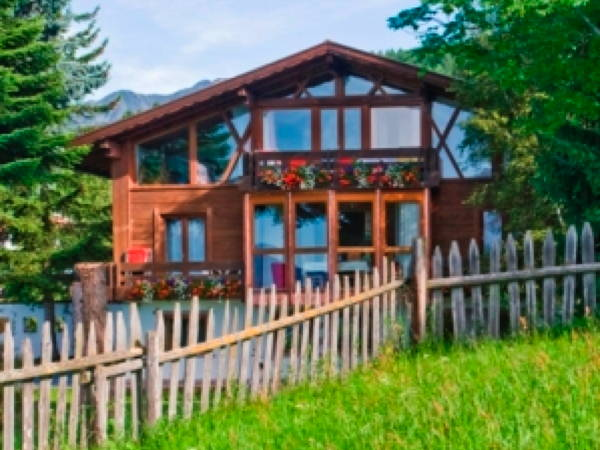 Foto esterno in estate Waldelerhof