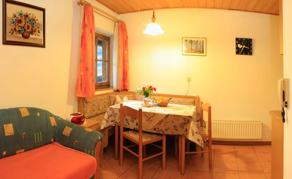 The living area Farmhouse apartments Anratterhof