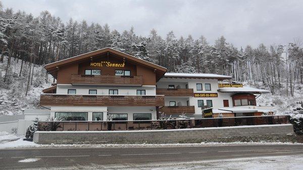 Winter Präsentationsbild B&B-Hotel Sonneck