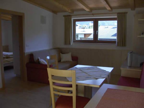 La zona giorno Weinberg - Appartamenti