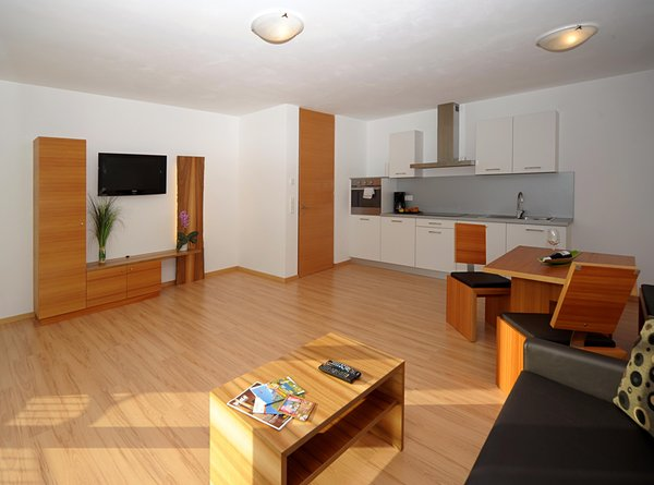 La zona giorno Residence Sylvanerhof