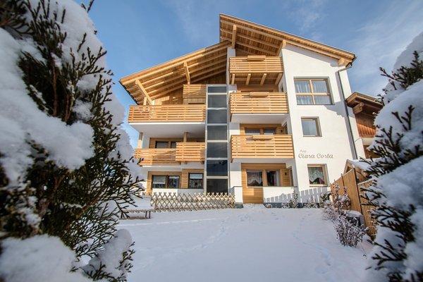 Foto invernale di presentazione Ciasa Costa - Appartamenti 3 soli
