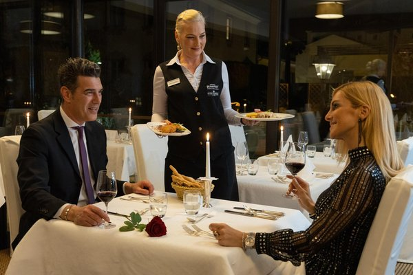 The restaurant Bressanone / Brixen Dominik Alpine City Wellness Hotel - Adults only