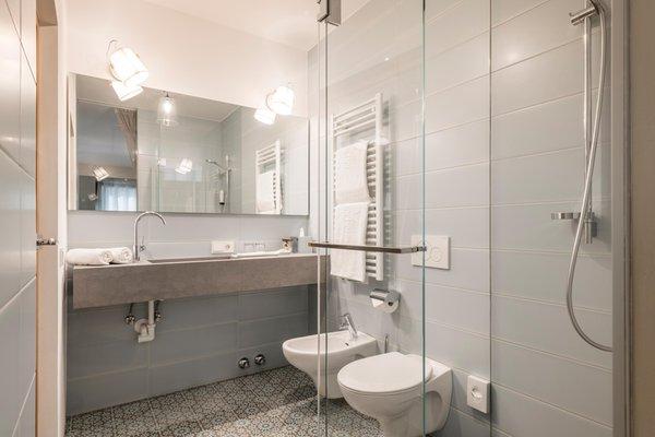 Foto del bagno Hotel Pacher